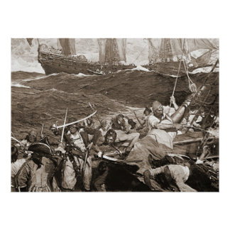 Buccaneers 1910 poster