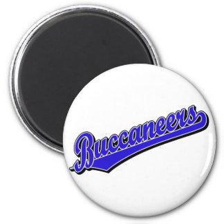 Buccaneers in Blue Magnets