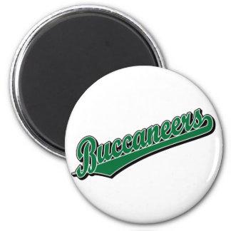 Buccaneers in Green Refrigerator Magnets