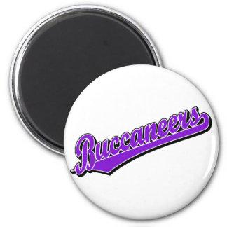 Buccaneers in Purple Magnet