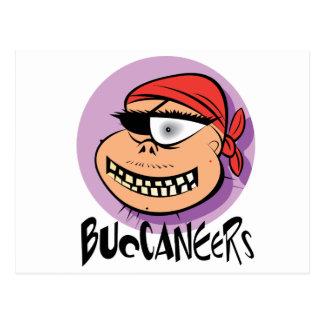 Buccaneers Postcard