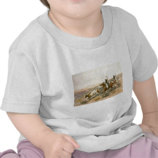 Buccaroos by Charles Marion Russell Tee Shirt