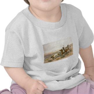 Buccaroos de Charles Marion Russell Camiseta