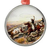 Buccaroos Metal Ornament