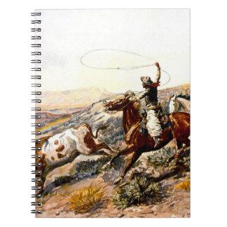 Buccaroos Spiral Note Book