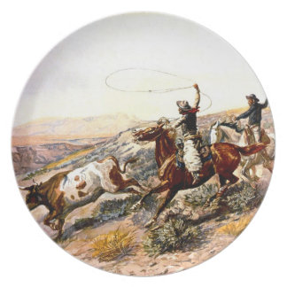 Buccaroos Party Plates