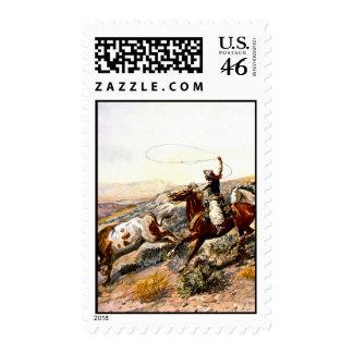 Buccaroos Postage Stamp
