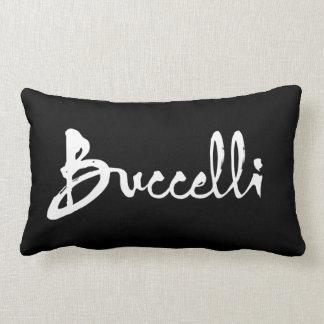 Buccelli white throw pillow