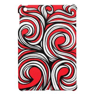 Bucciero Abstract Expression Red White Black iPad Mini Case