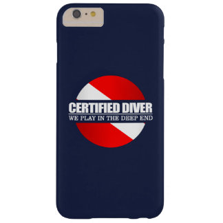 Buceador certificado (rd) funda para iPhone 6 plus barely there