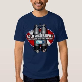 Buceador de la agua fría (ST) Poleras