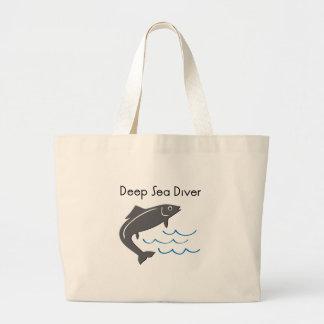 Buceador del mar profundo bolsa