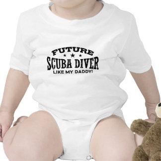 Buceador futuro camiseta