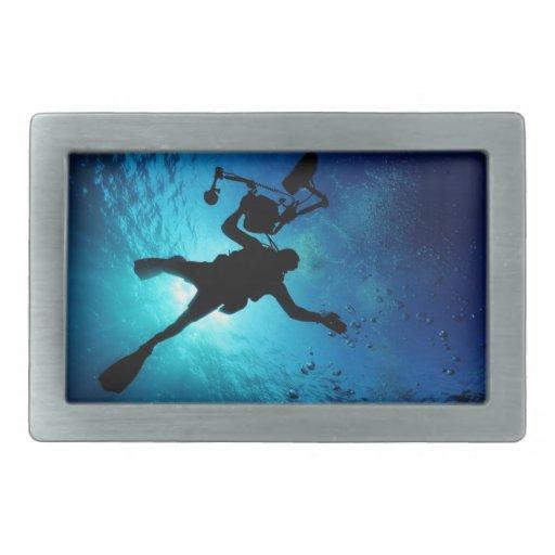 Buceador subacuático hebilla de cinturon