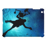 Buceador subacuático iPad mini funda