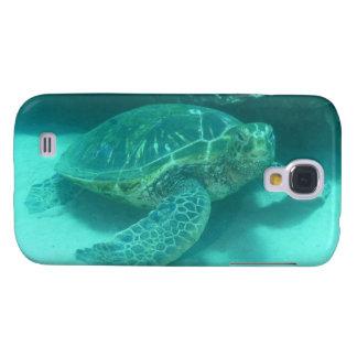 Buceo con escafandra de la tortuga de mar funda para galaxy s4