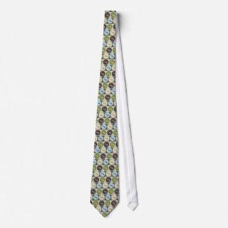 Buceo con escafandra del arte pop corbatas