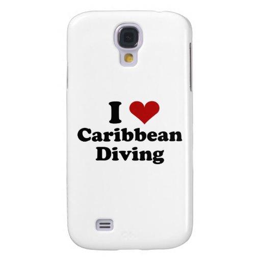 Buceo con escafandra del Caribe Funda Para Galaxy S4