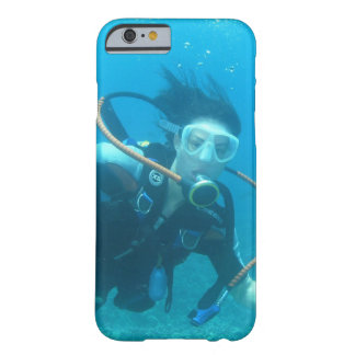 Buceo con escafandra funda de iPhone 6 barely there