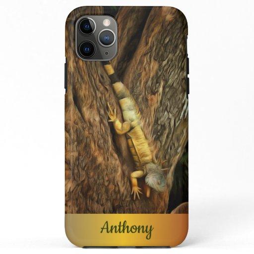 Bucerias Iguana 1069 iPhone 11 Pro Max Case