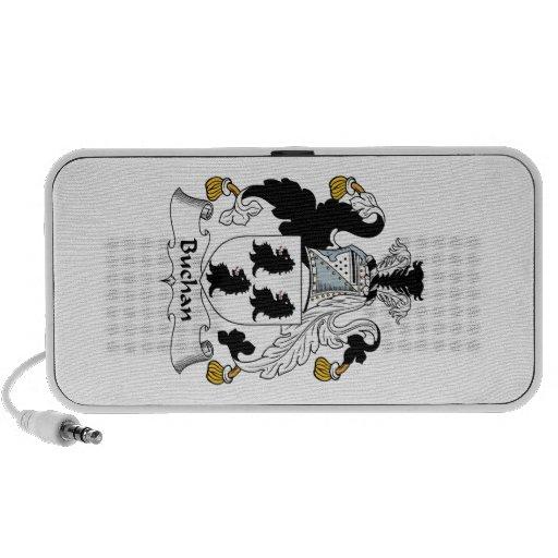 Buchan Family Crest iPhone Speakers