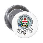 Buchanan Clan Badge 2 Inch Round Button