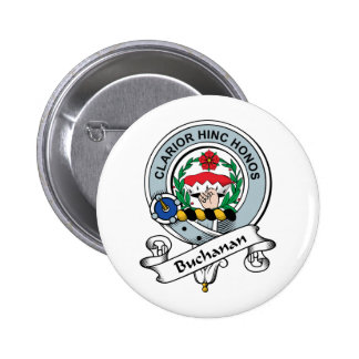 Buchanan Clan Badge Pinback Button