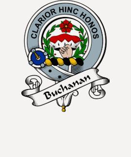 Buchanan Clan Badge T Shirts