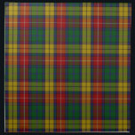 "Buchanan Clan Family Tartan Napkin<br><div class=""desc"">Featuring a high resolution rendering of the accepted Buchanan Clan tartan. Some background information on this tartan from the Scottish Tartan Register: &quot;In their 1850 book &#39;The Clan and Family Tartans of Scotland&#39; W and A Smith of Mauchline wrote: The pattern here given seems to be universally considered the genuine...</div>"