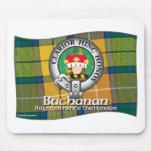 Buchanan Clan Mouse Pad
