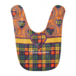 Buchanan clan Plaid Scottish tartan Bib