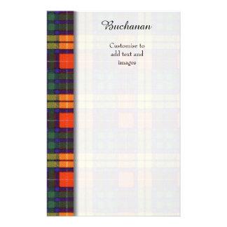 Buchanan clan Plaid Scottish tartan Flyer