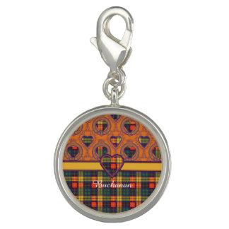 Buchanan clan Plaid Scottish tartan Photo Charm