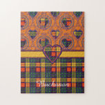 Buchanan clan Plaid Scottish tartan Puzzle