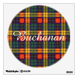 Buchanan clan Plaid Scottish tartan Wall Sticker