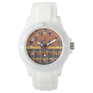 Buchanan clan Plaid Scottish tartan Watches