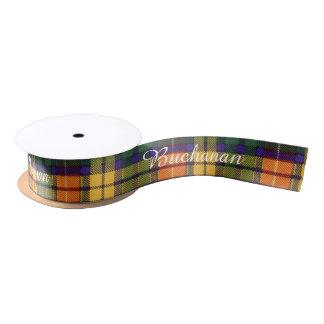 Buchanan clan Plaid Scottish tartan Satin Ribbon