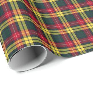 Buchanan Clan Tartan Wrapping Paper