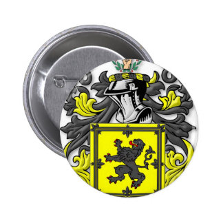 Buchanan Coat of Arms Pinback Buttons