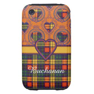 Buchanan Family clan Plaid Scottish kilt tartan iPhone 3 Tough Cover