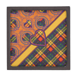 Buchanan Family clan Plaid Scottish kilt tartan Gift Box