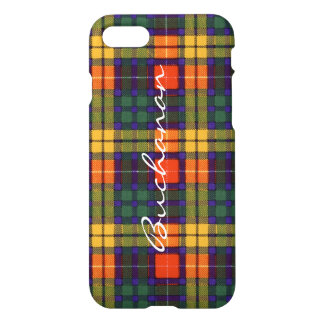 Buchanan Family clan Plaid Scottish kilt tartan iPhone 7 Case