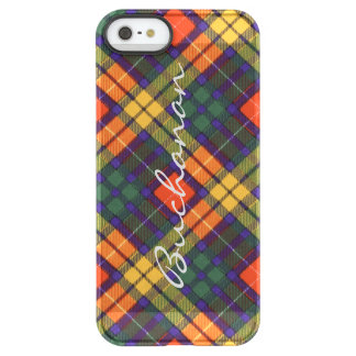 Buchanan Family clan Plaid Scottish kilt tartan Permafrost iPhone SE/5/5s Case