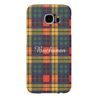 Buchanan Family clan Plaid Scottish kilt tartan Samsung Galaxy S6 Case