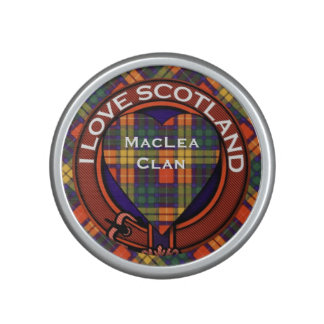 Buchanan Family clan Plaid Scottish kilt tartan Speaker