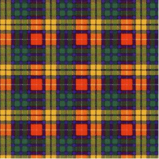 Buchanan Family clan Plaid Scottish kilt tartan Statuette