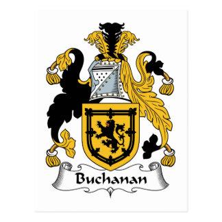 Buchanan Family Crest Postcard