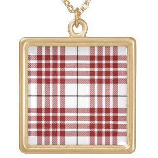 Buchanan Square Pendant Necklace