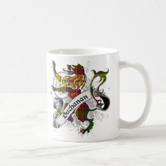Buchanan Tartan Lion Coffee Mug