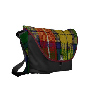 Buchanan Tartan Medium Messenger Bag